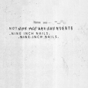 Nine Inch Nails - Not The Actual Events (CD)
