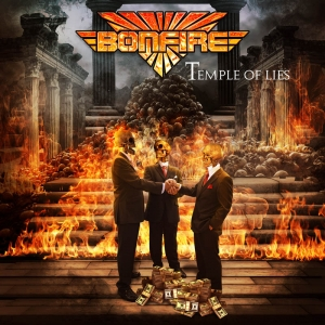 Bonfire - Temple Of Lies (Coloured LP)