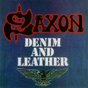 Saxon - Denim And Leather (Coloured LP)