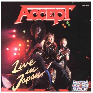 Accept - Live In Japan (CD)