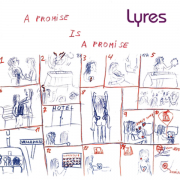 Lyres ‎- A Promise Is A Promise (LP)