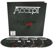 Accept - Restless And Live (Blu-ray/DVD/2CD Earbook)