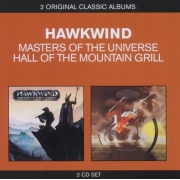 Hawkwind ‎- Masters Of The Universe / Hall Of The Mountain Grill (2CD)