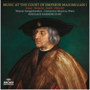 Nikolaus Harnoncourt - Music At The Court Of Emperor Maximilian (LP)