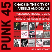 Various - Punk 45 : Chaos In The City Of Angels And Devils (CD Boxset)