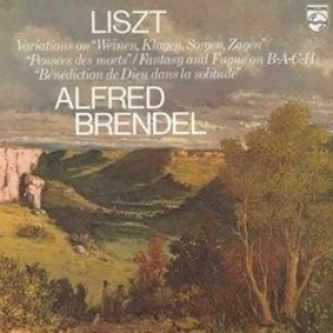 Alfred Brendel - Liszt: Fantasia And Fugue On Bach And Variations On Weinen Klagen (LP)