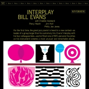 Bill Evans Quintet - Interplay (LP)