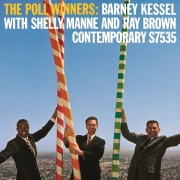 Shelly Mann with Barney Kessel and Ray Brown - The Poll Winners (LP)
